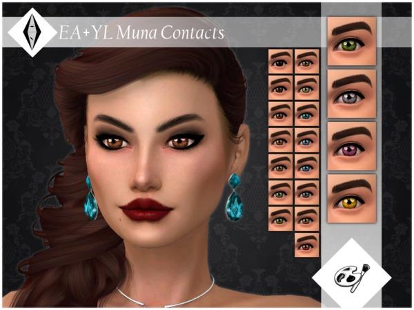 EA+YL Muna Contacts Facepaint