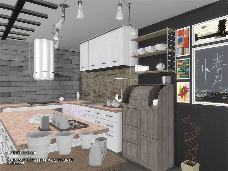 Artvitalex'S Karemo Kitchen Accessories