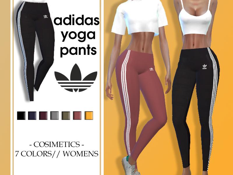 Delicioso girasol Expresión  cosimetics' Adidas Yoga Pants (leggings)