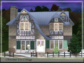 Sims 3 — Christmas Eve Cottage by timi722 — If you want rest in a warm and comfortable house at Christmas, this two
