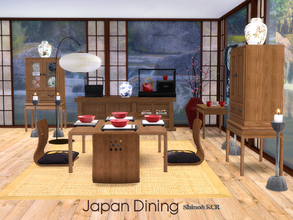 Sims 4 Dining Room Sets - \'japanese\'