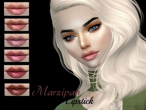 Sims 4 — Marzipan Lipstick by Baarbiie-GiirL — - this lipstick works with ALL Skins - this set have 10 colors - looks