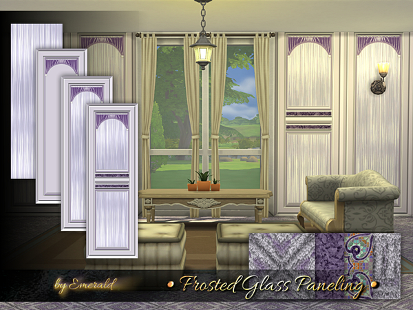 Frosted Glass Paneling