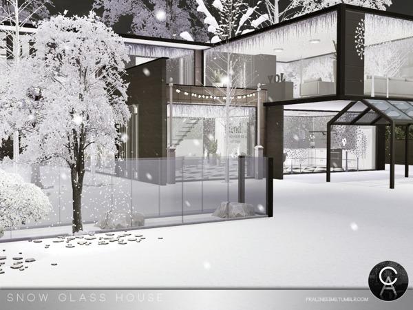 Snow Glass House