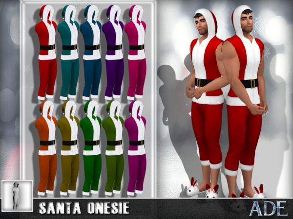 Ade   Santa Onesie