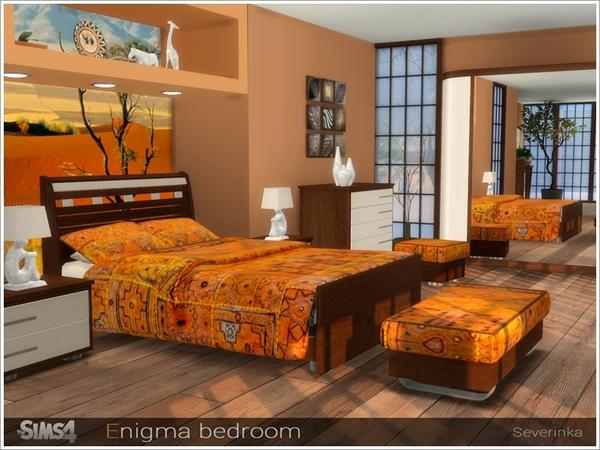Enigma bedroom