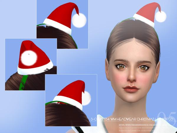 S Club ts4 WM Headwear Christmas