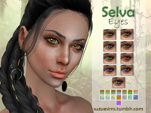 [Suzue] Selva Eyes N4