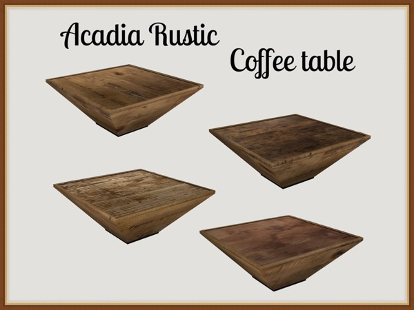 Acadia Rustic Coffee table