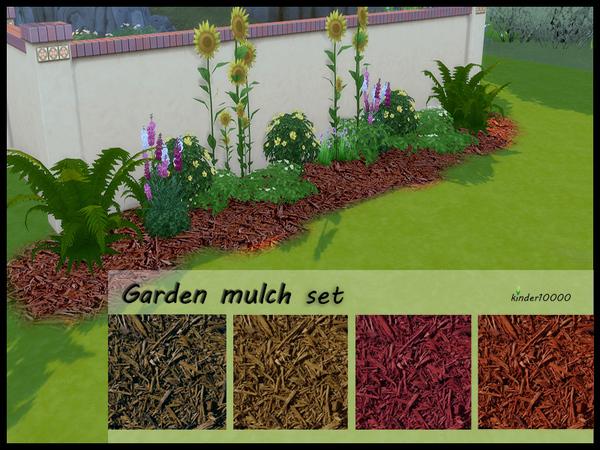 Garden mulch set