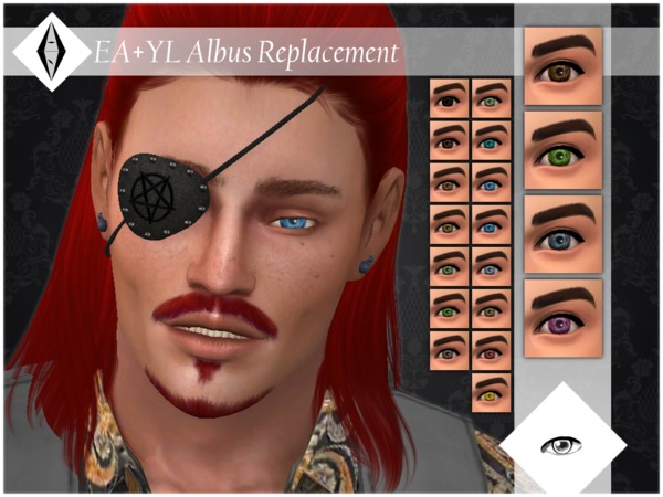 EA+YL Albus Replacement Eyes