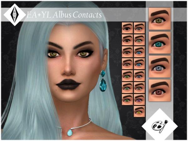 EA+YL Albus Contacts Facepaint