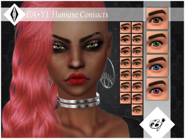 EA+YL Humane Contacts Facepaint