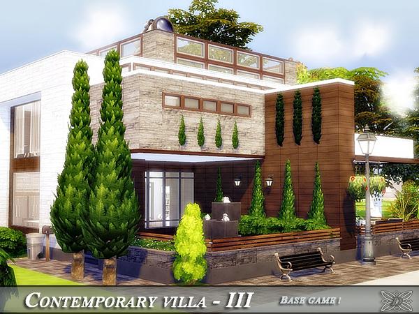 Contemporary villa - IV (CC)