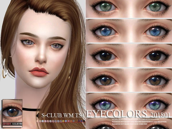 S Club WM ts4 Eyecolors 201801