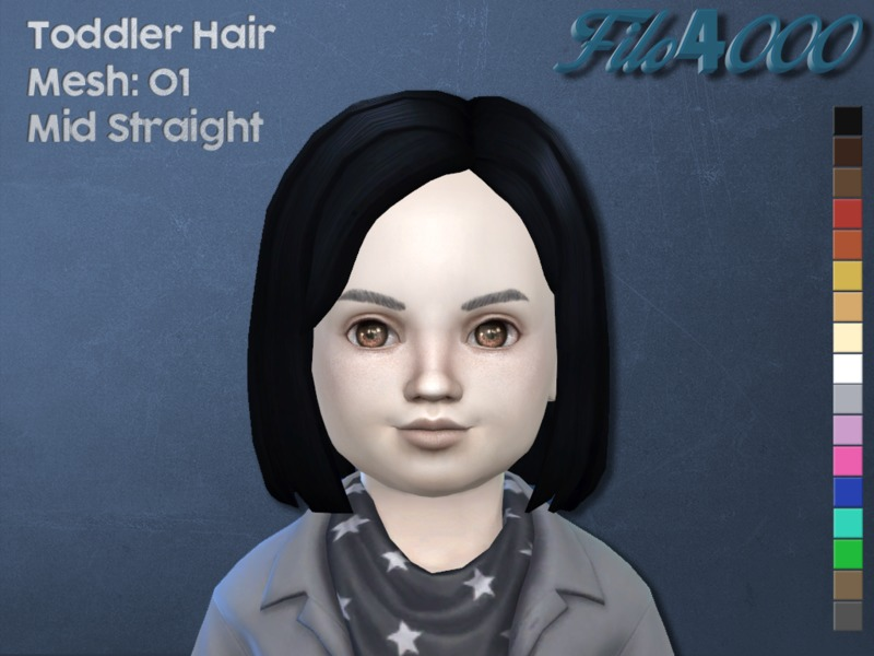 Sims 4 Hair Toddler