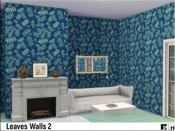 Leaves Walls 2