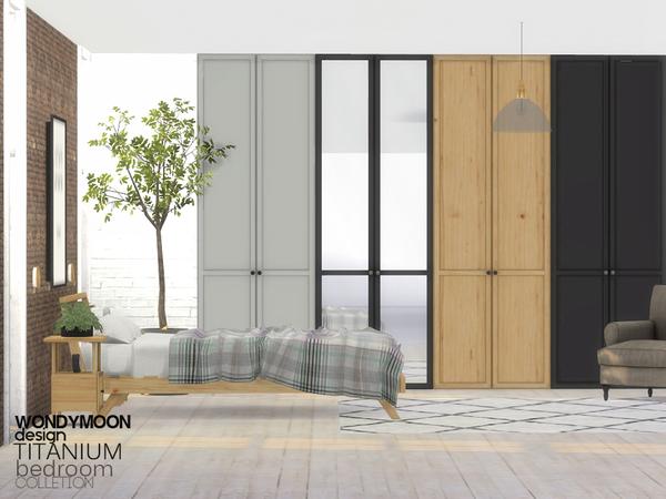 Titanium Bedroom