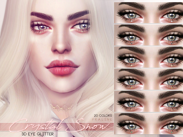 Crystal Snow ~ 3D Eye Glitter