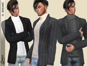 Sims 4 Male Clothing - 'winter'