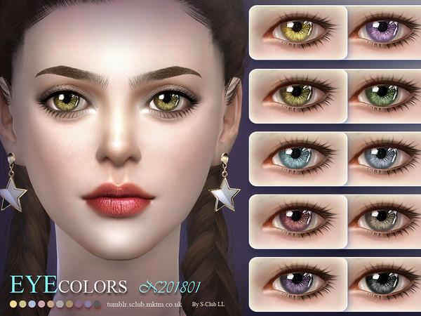 S Club LL ts4 Eyecolor 201801