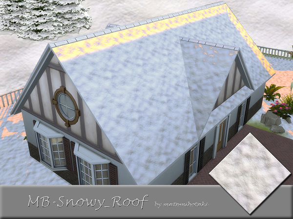 MB Snowy Roof
