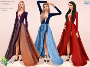 e3b31bd12715 MARTINA dress - SF Sims - Mesh.