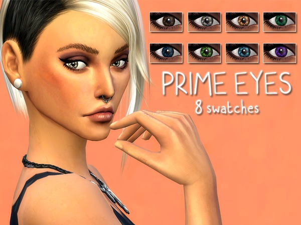 Prime Eyes Contacts Set