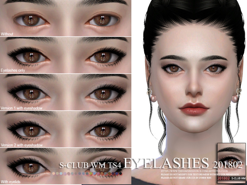 fd022961cd5 S-Club WM ts4 eyelashes 201802