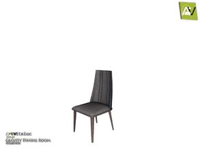 Sims 3 — Gravity Dining Chair by ArtVitalex — - Gravity Dining Chair - ArtVitalex@TSR, Jan 2018