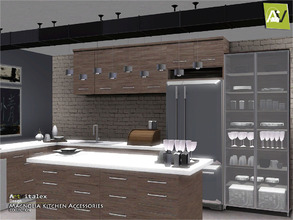 Sims 3 — Magnolia Kitchen Accessories by ArtVitalex — - Magnolia Kitchen Accessories - ArtVitalex@TSR, Jul 2016 - All