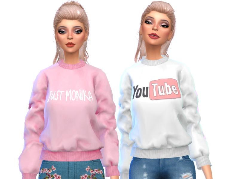 Wicked_Kittie's Tumblr Themed Sweatshirts- Mesh Needed