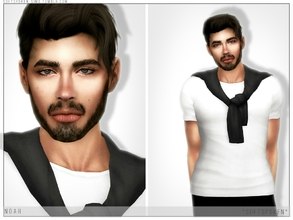 Sims 4 — Noah by Softspoken2 — Hi everyone! I don't usually upload male sims as much since I'm never satisfied w/ how