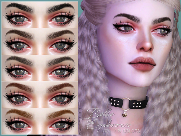 Belle Eyebrows N125