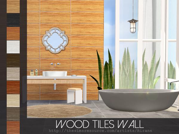 Wood Tiles Wall