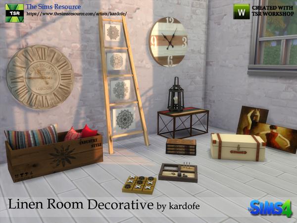 kardofe Linen Room Decorative