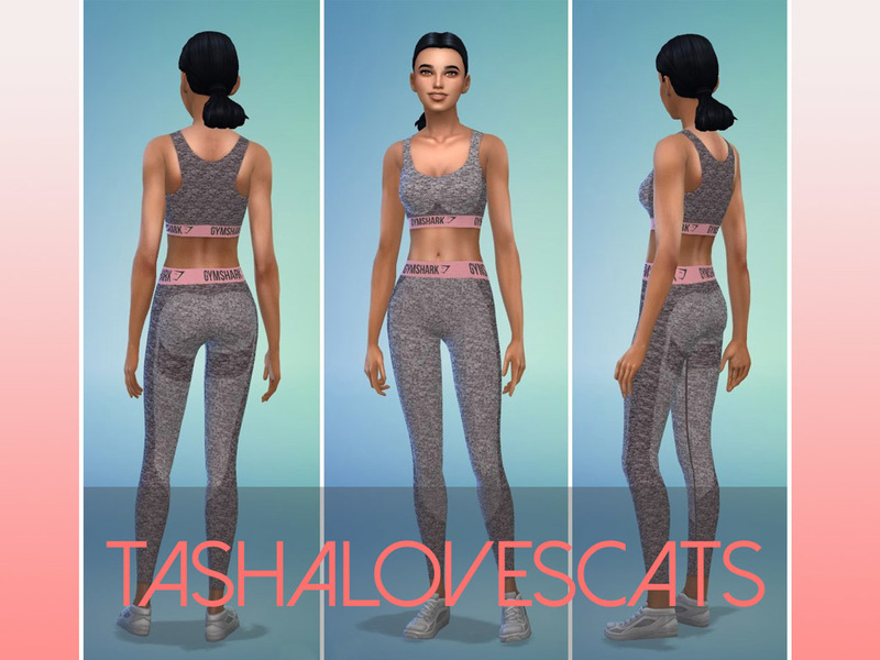 Tashalovescats Gymshark Flex Leggings