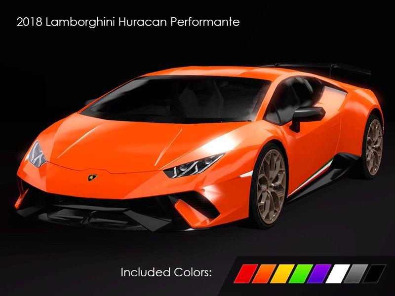 Fresh Prince S 2018 Lamborghini Huracan Performante