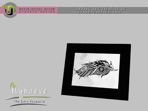 Sims 3 — Rover Picture Frame by NynaeveDesign — For Sims 4 custom content, recolors and addons check out: