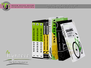 Sims 3 — Rover Books V2 by NynaeveDesign — For Sims 4 custom content, recolors and addons check out: NynaeveDesign.com