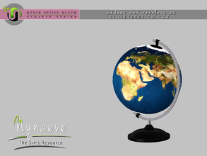 Sims 3 — Rover Globe by NynaeveDesign — For Sims 4 custom content, recolors and addons check out: NynaeveDesign.com