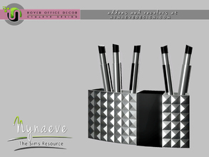 Sims 3 — Rover Pen Holder by NynaeveDesign — For Sims 4 custom content, recolors and addons check out: NynaeveDesign.com