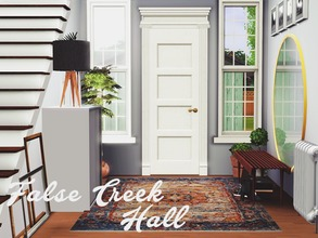Sims 3 — False Creek Hall  by pyszny16 — False Creek Home is for those who like to feel contact with nature. All elements