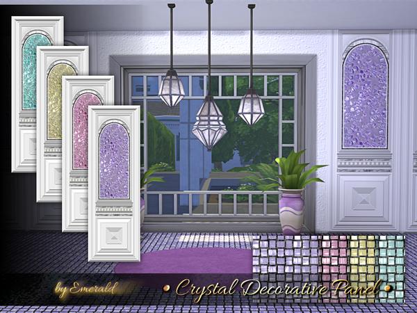 Crystal Decorative Panel