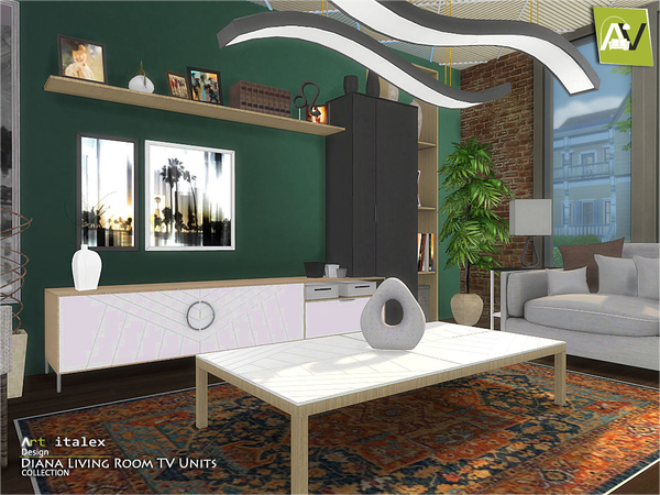 Diana Living Room TV Units