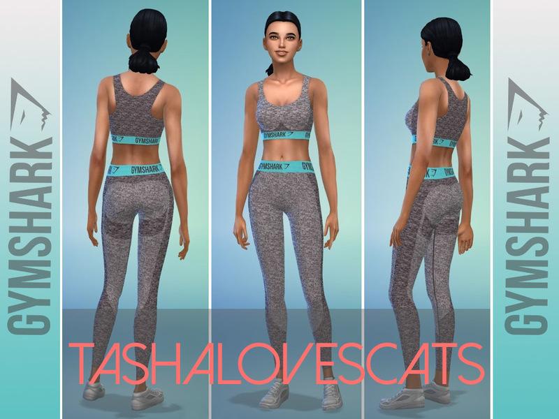 039660fe864aa tashalovescats' Gymshark Flex Leggings - Pale Turquoise