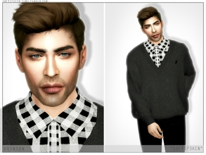 Sims 4 — Bronson by Softspoken2 — Hi everyone! I decided to upload my sim Bronson this week. I did add clothing links