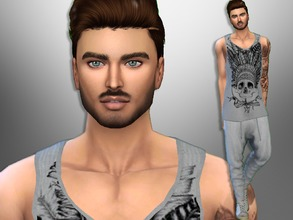 Sims 4 — Bogdan Albert by divaka45 — Look at the creator`s notes for the custom content which I have used. DOWNLOAD