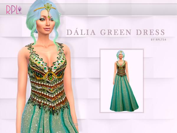 Dalia green Dress