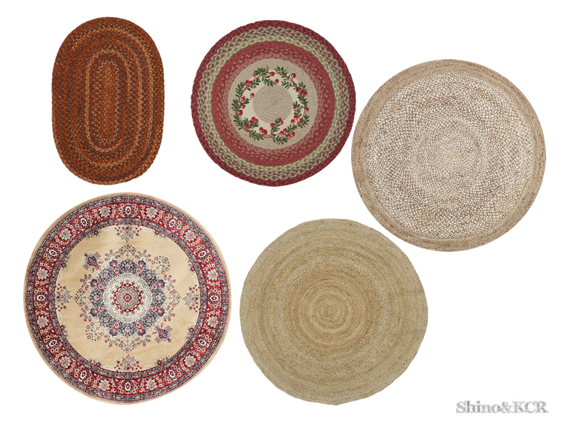 Shinokcr S Bedroom Country Rug 3 Round Rugs
